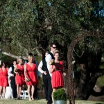 Arriving at a Willowbank Wedding Albury Wodonga